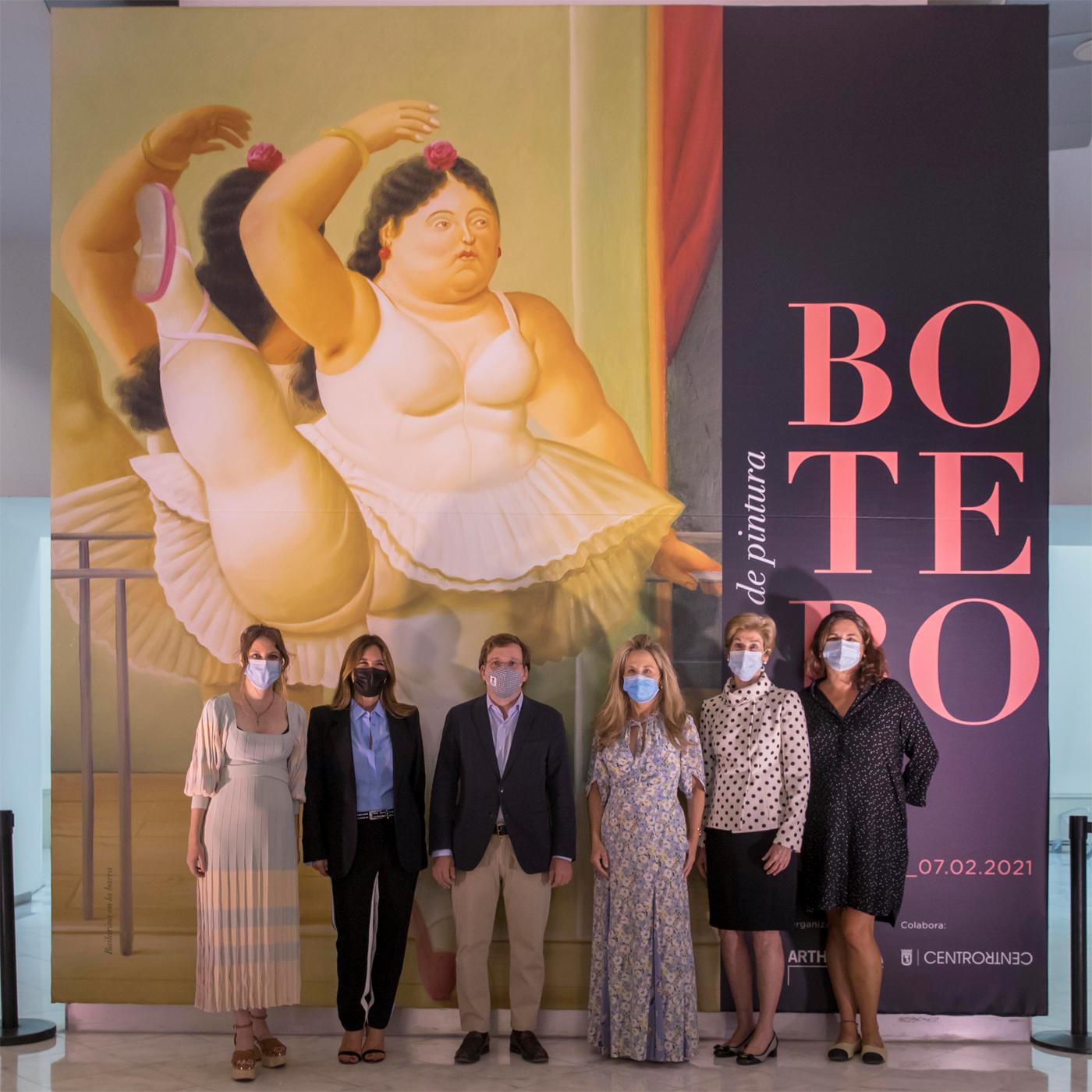 Embajadora Carolina Barco acompañó la presentación en Madrid de la exposición Botero, o60 años de pintura, del maestro colombiano Fernando