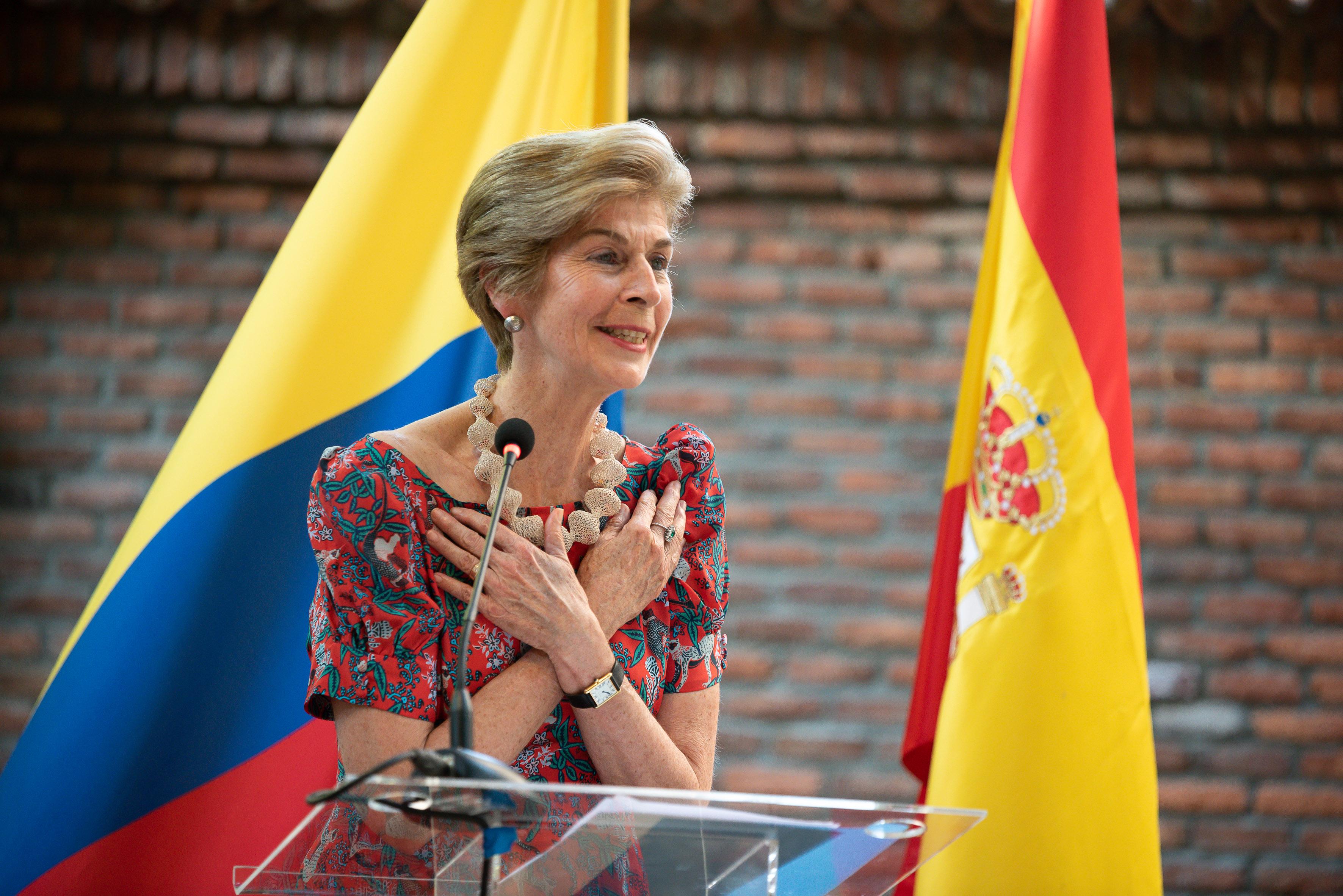 Con un concierto dedicado al agradecimiento y la solidaridad la Embajadora en España, Carolina Barco, conmemoró el Dia Nacional de Colombia