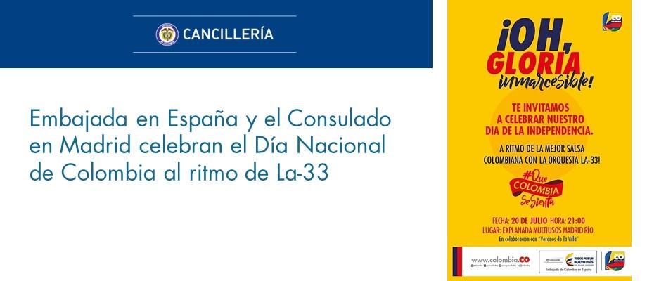 Embajada de colombia en espa a - Embaja de espana ...